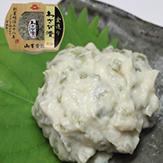 丸カップ金造りわさび漬380円(税込)